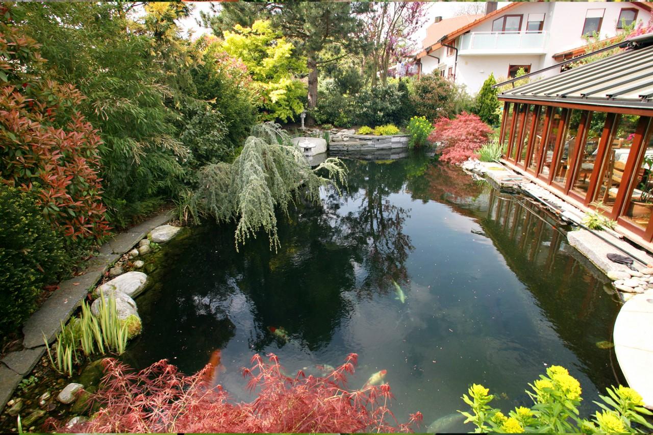 Außergewöhnlich Wie tief soll ein Teich sein? | Blog | Teichzeit.de &RR_42