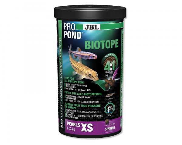JBL PROPOND BIOTOPE XS - 0,53kg - Teichfutter für alle Biotopfische