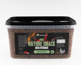 Teichzeit Pure Nature Snacks - Mehlwürmer